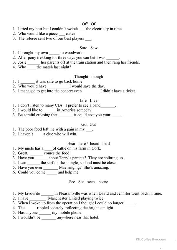 common spelling mistakes worksheet free esl printable worksheets made by teachers. Black Bedroom Furniture Sets. Home Design Ideas