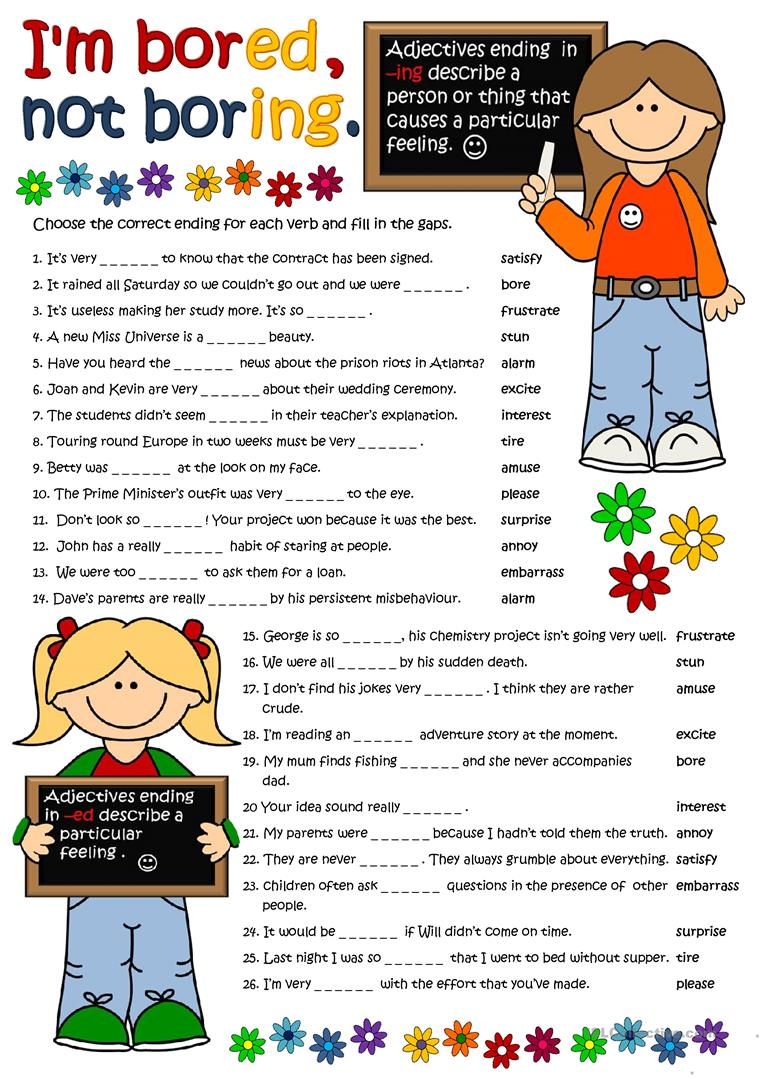 adjectives with ed and ing fun activities games_11869_1