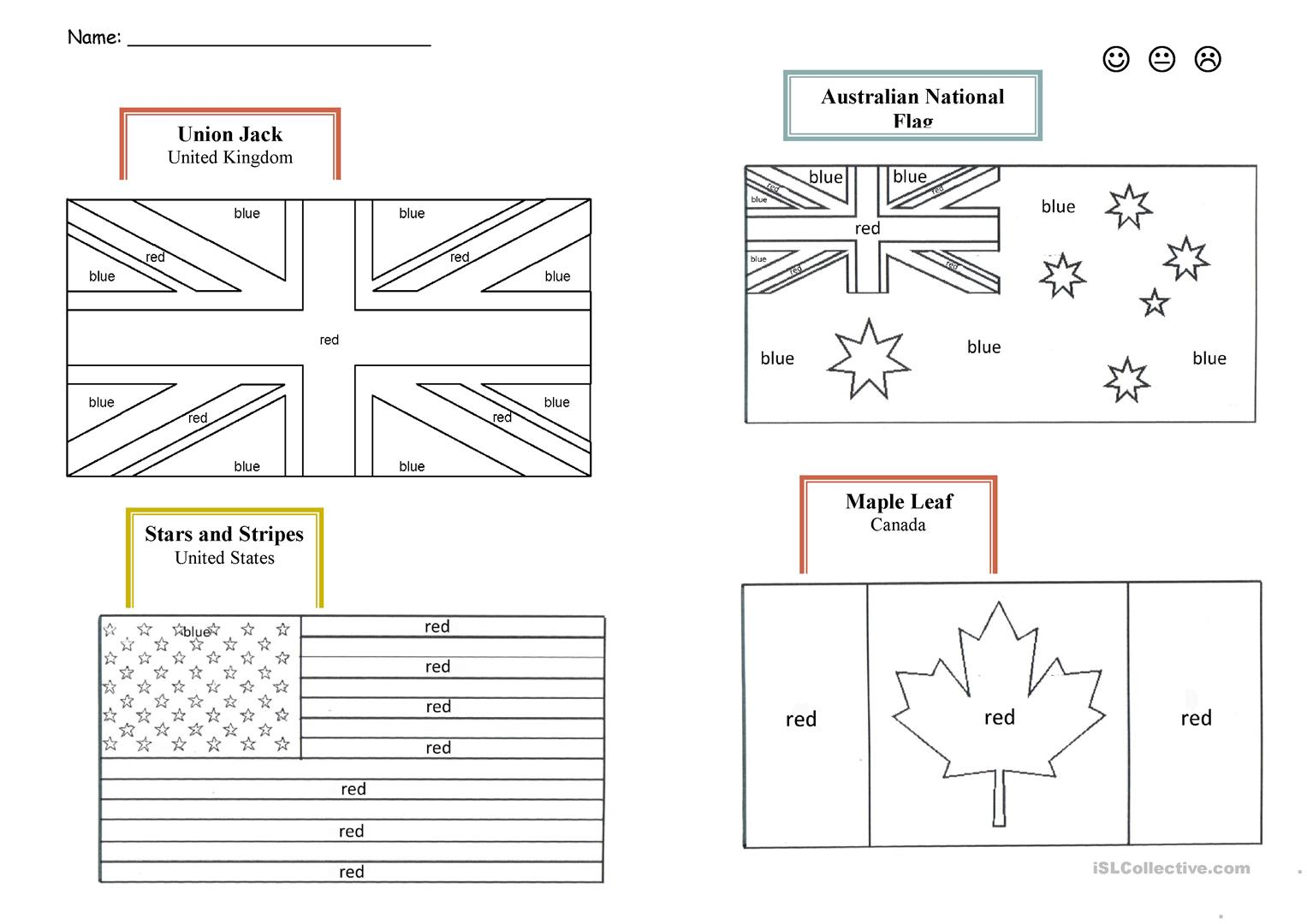 Flags of the World :: National Flags of the Americas and ...