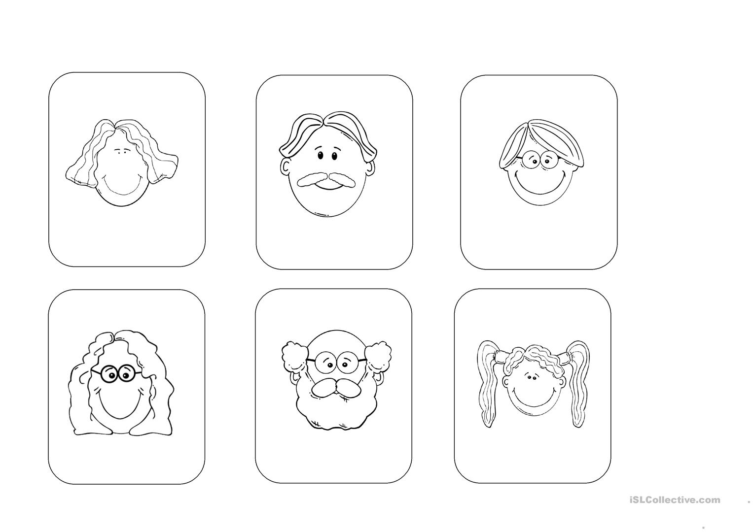 My Family Listening Activity Young Learners Worksheet Free Esl