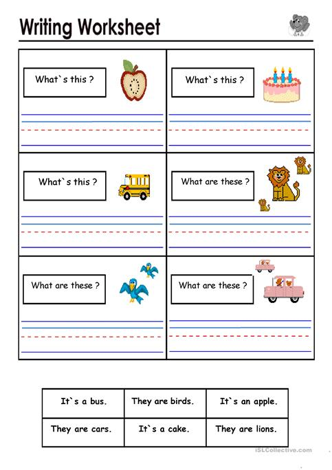 What`s this ? What are these ? worksheet - Free ESL printable ...