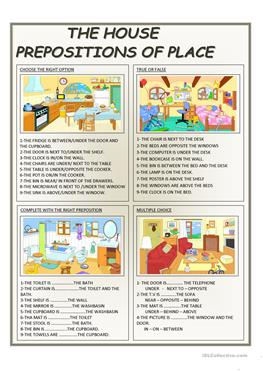 English Esl Prepositions Worksheets Most Downloaded 1030 Results