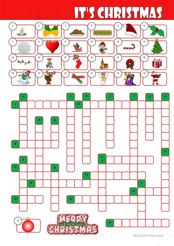 It's Christmas Crossword