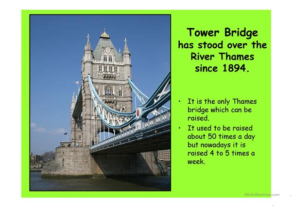 London 2 (from 10 parts) - powerpoint
