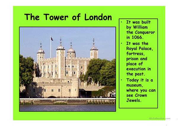 London 4 (from 10 parts) - powerpoint