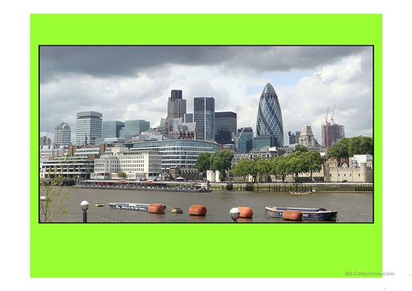 London 8 (from 10 parts) - powerpoint