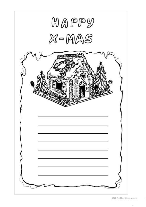 write a xmas letter 3
