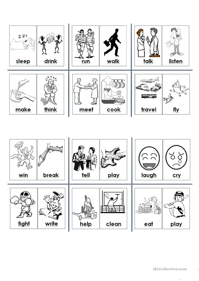 63 FREE ESL small worksheets