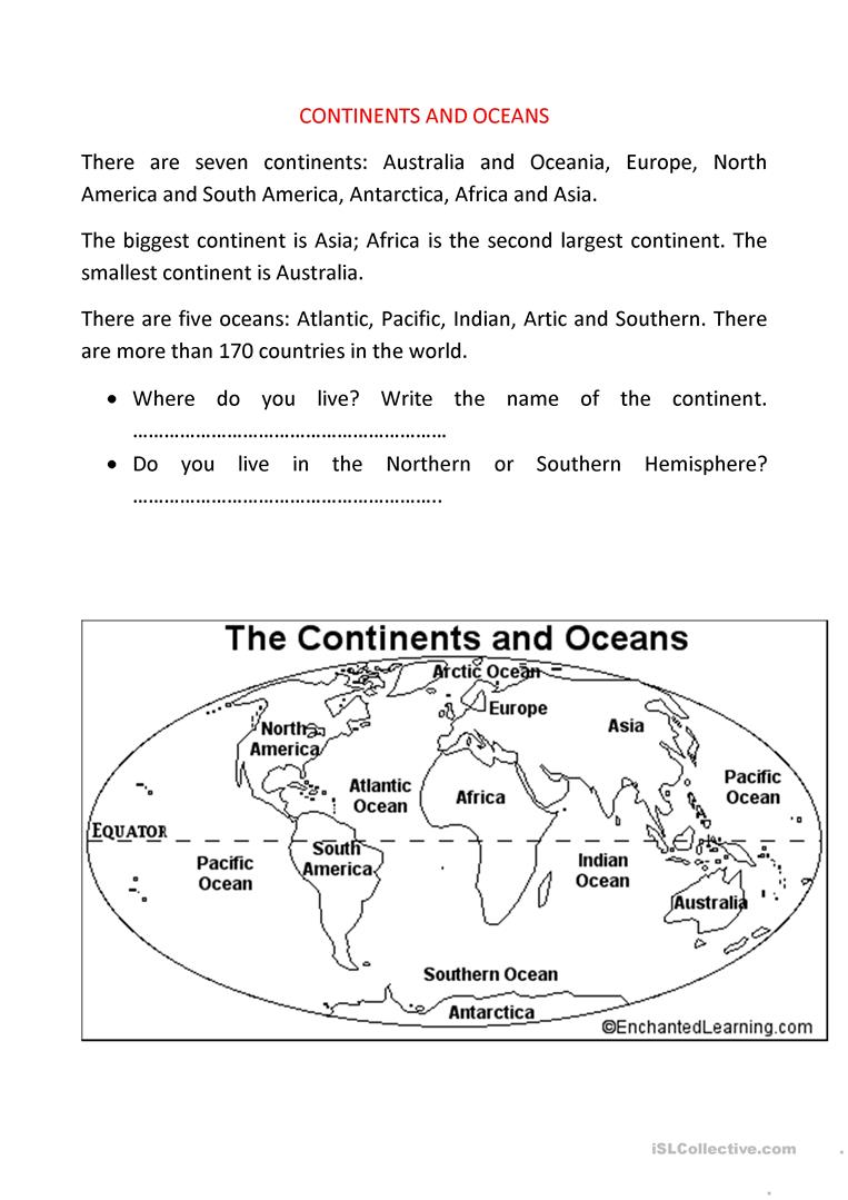 It's just an image of Gorgeous Printable Geography Worksheets