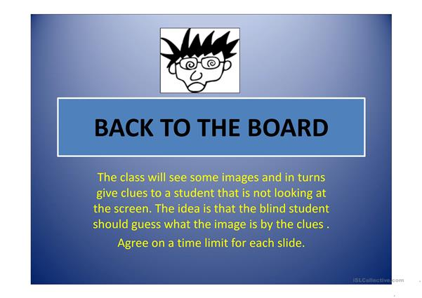 BACK TO THE BOARD 1