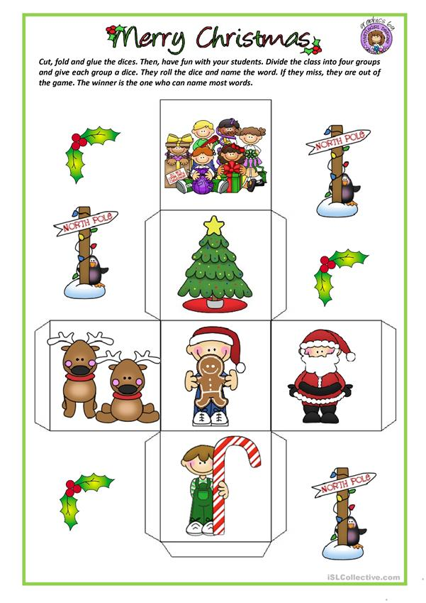 CHRISTMAS - VOCABULARY