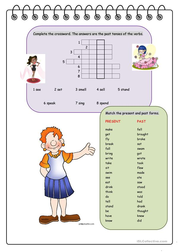 Have Fun with Irregular Verbs! (Past Forms)