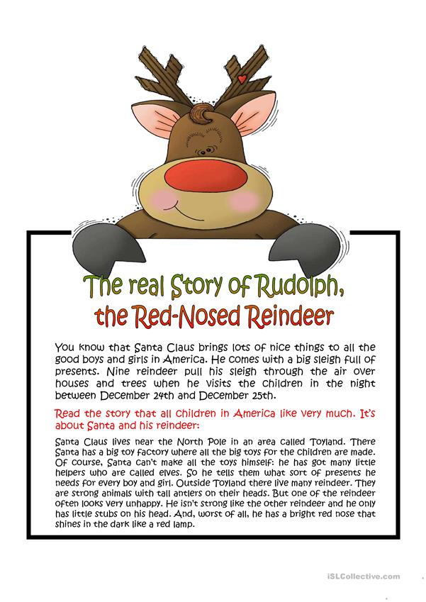 The real story about Rudolph, the red-nosed reindeer