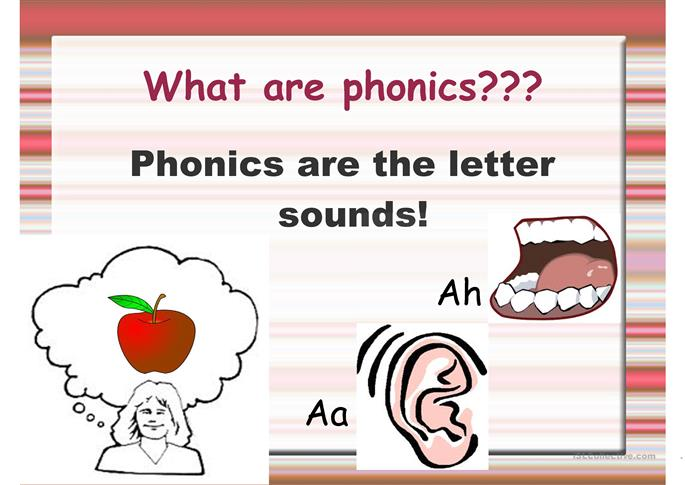 phonics chant - ESL worksheets
