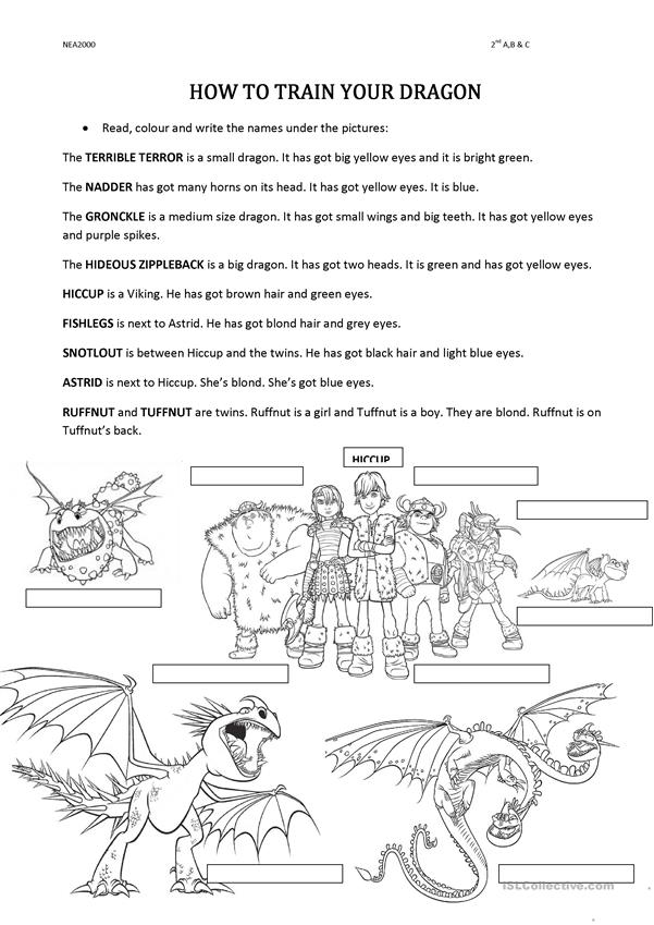 It is a picture of Tactueux How to Train Your Dragon Free Printables