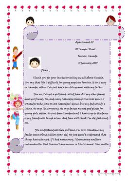 16 free esl letter to a friend worksheets a letter to a friend thecheapjerseys Gallery