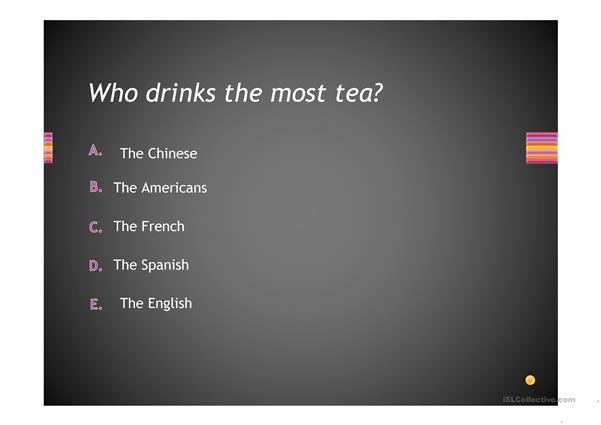 Being British quiz