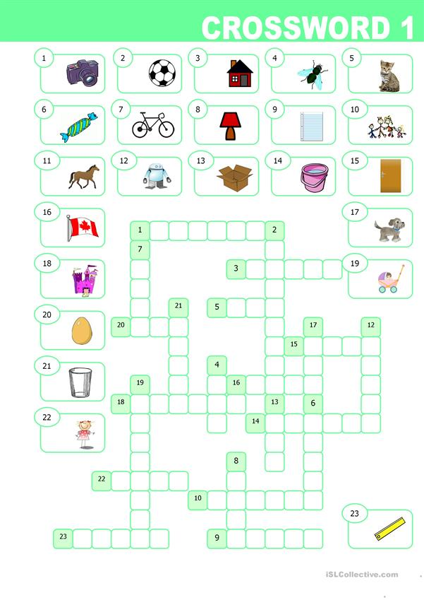 Elementary Crossword 1