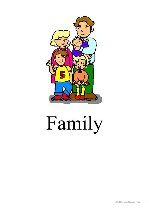 Family flahcards