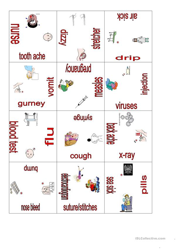 Illness and health puzzle 3
