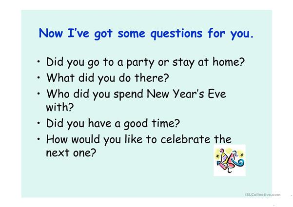 New Year's Eve - Happy New Year - ppt