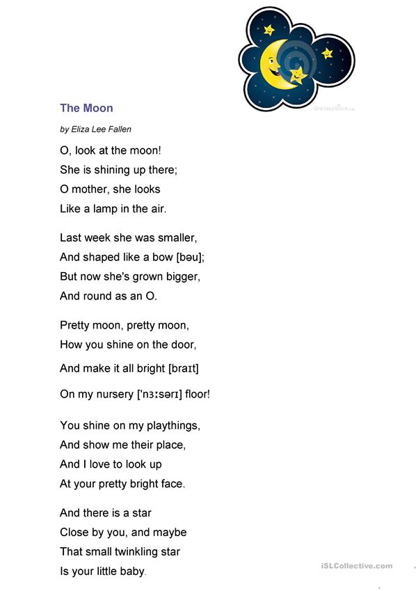 Poem about Moon