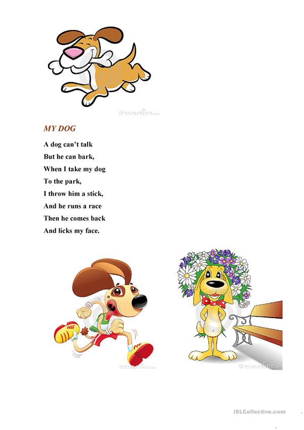 Poem My Dog