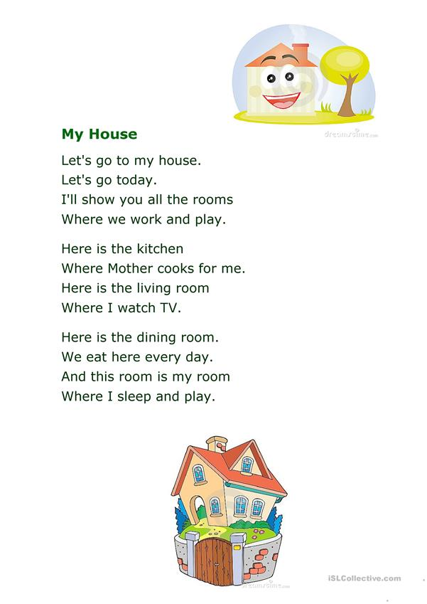 Poem My House