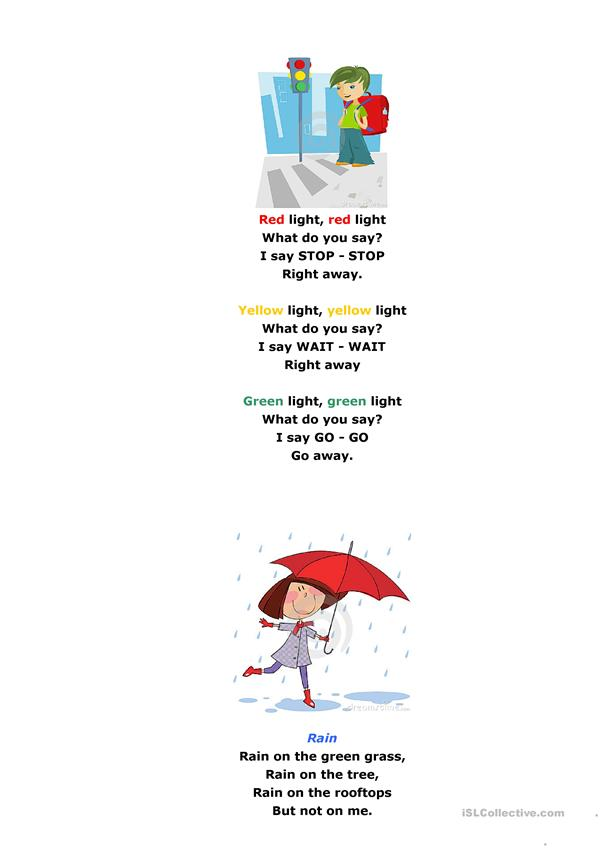 Poems for young learners