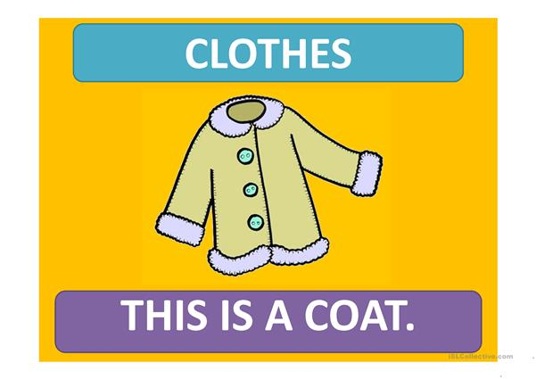 PPT on CLOTHES: This is a ... - These are ...