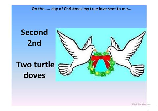 the twelve days of christmas sing along