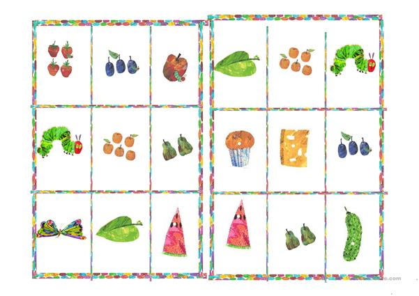 The very hungry caterpillar - Lotto