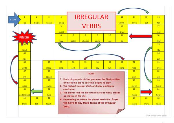 VERB CROSSWORD