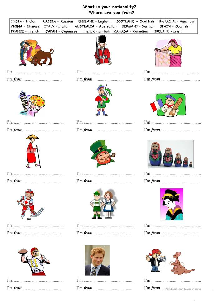 ... you from? worksheet - Free ESL printable worksheets made by teachers