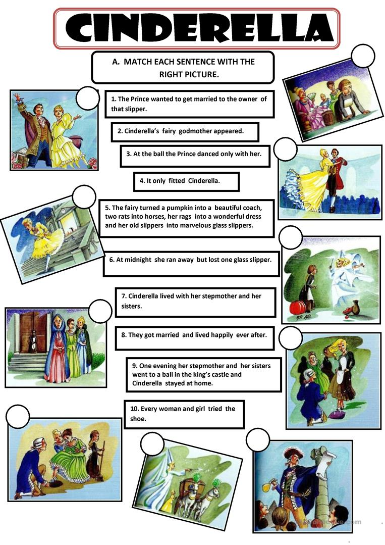 This is an image of Divine Cinderella Story Printable