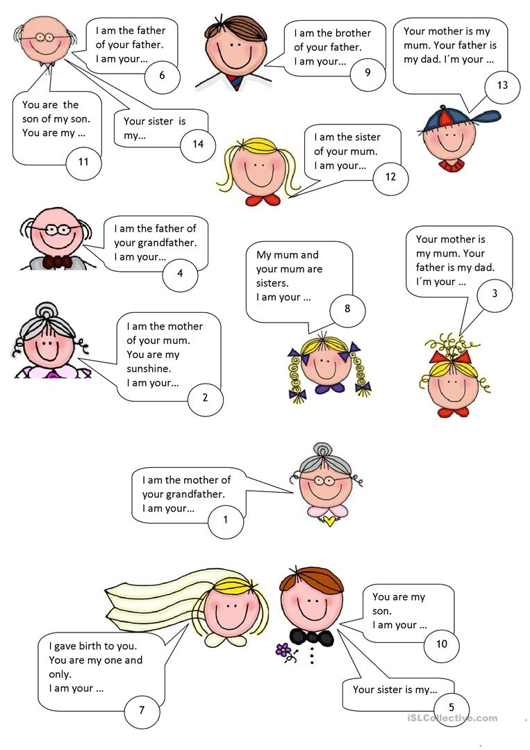 worksheet Healthy Relationships Worksheet 58 free esl relationships worksheets family puzzle
