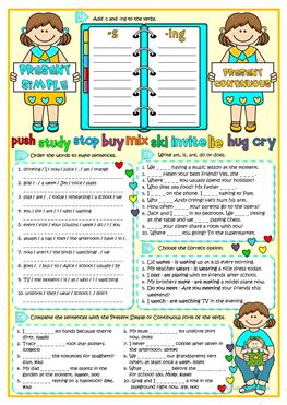 3rd Grade Reading Writing Worksheets Excel  Free Esl Present Simple Vs Present Continuous Worksheets Worksheet On Factors And Multiples with Place Value Worksheet For Grade 3 Present Simple Vs Present Continuous Proper Nouns Worksheets Excel