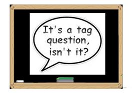 21 Free Esl Question Tags Powerpoint Presentations Exercises