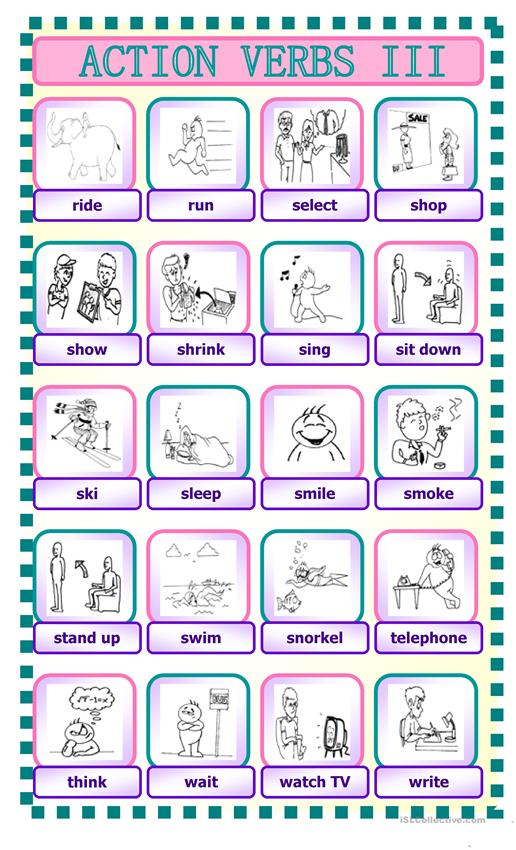 Action Verbs 3