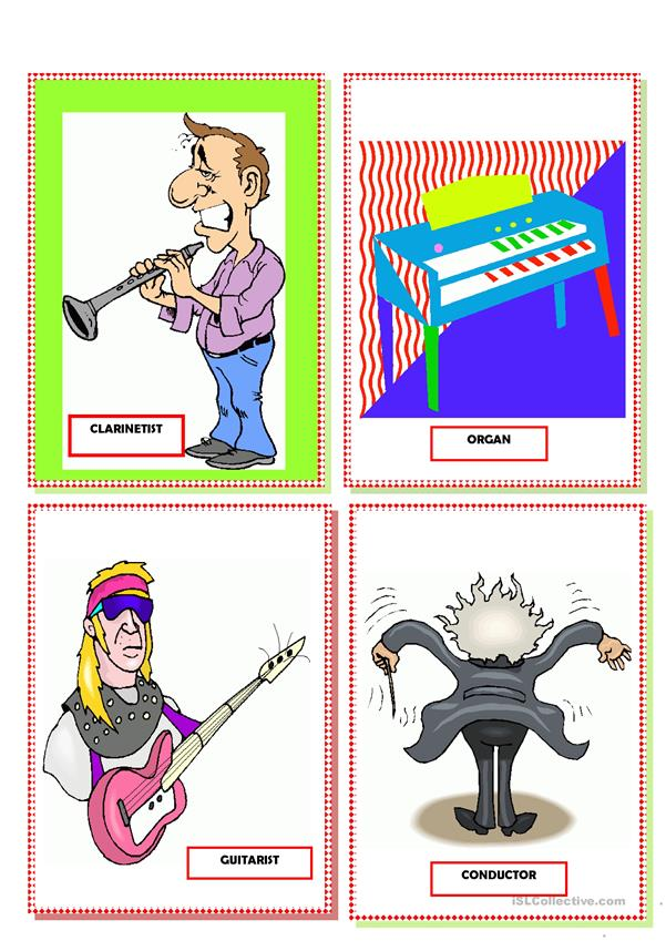 FLASHCARDS: MUSICIANS