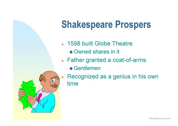 Shakespeare´s biography