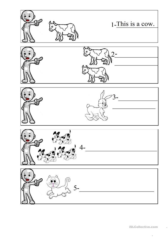this/that/these/those worksheet - Free ESL printable worksheets made ...