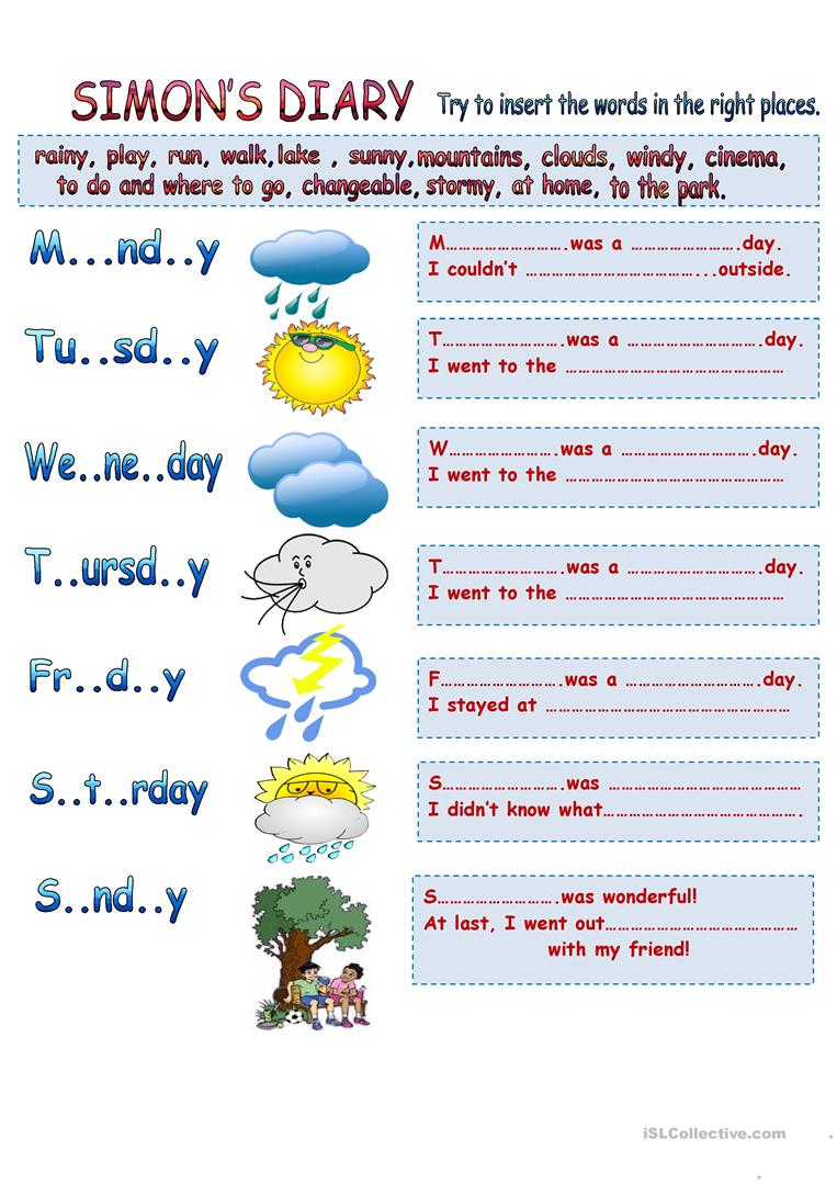 weather types learning past simple vocabulary worksheet free esl printable worksheets made by. Black Bedroom Furniture Sets. Home Design Ideas