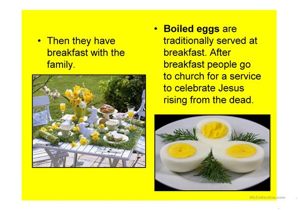 Easter in the UK - some facts (powerpoint) 15 slides