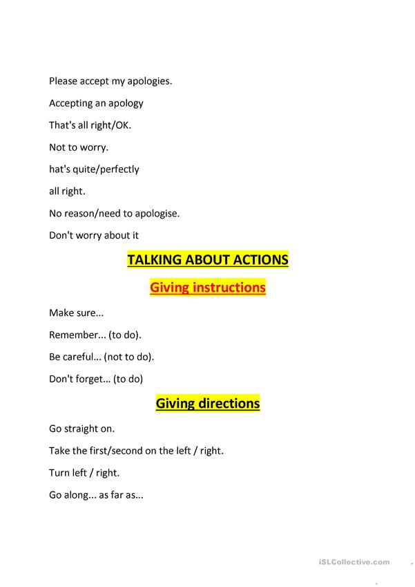 English Communication Skill - English ESL Worksheets For Distance Learning  And Physical Classrooms