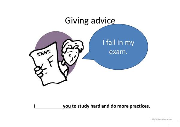 How to give advice? -power point