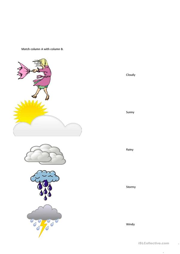 Kinds of Weather