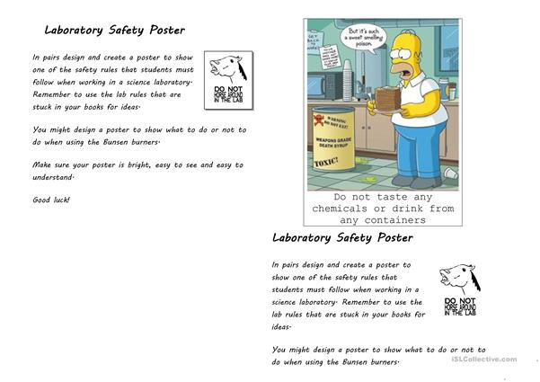 Laboratory Safety Poster