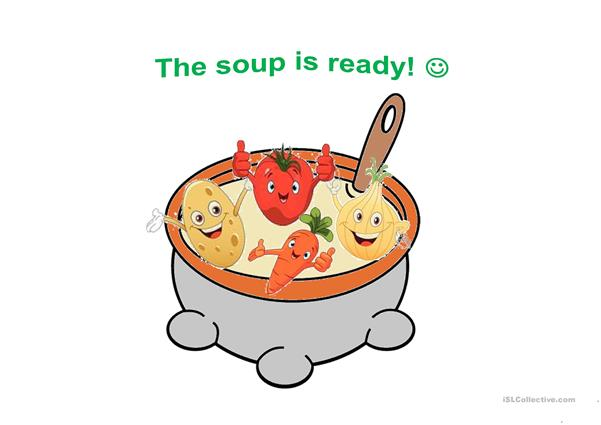 Let's make a soup!