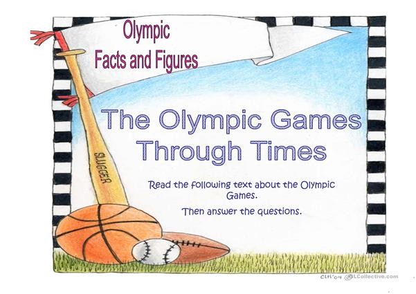 Olympic Facts and Figures